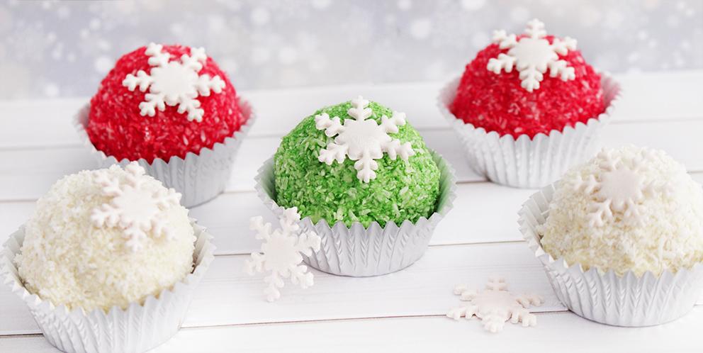 Bake pops navideños