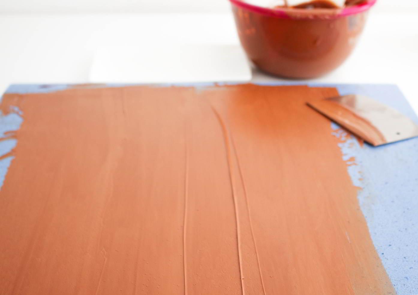como hacer chocolate en rama