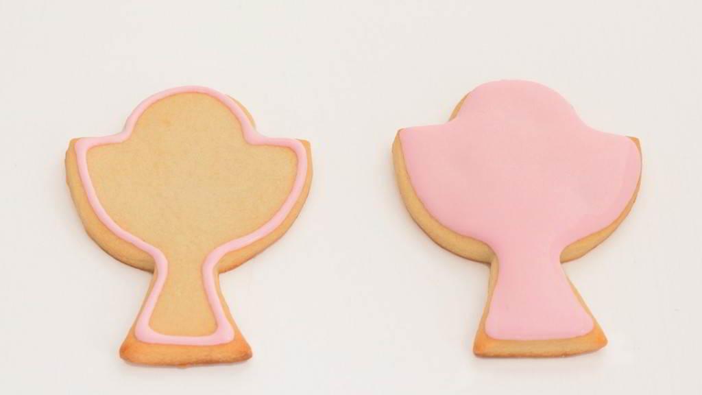 galletas cáliz de comunión