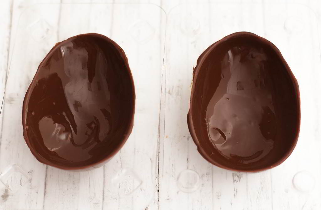 huevos de chocolate