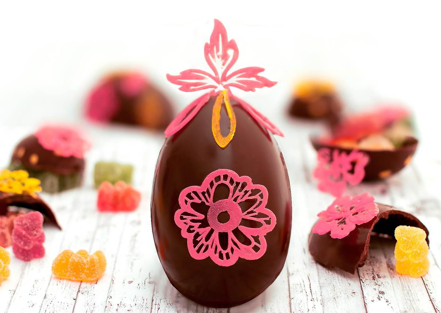 Huevos de pascua originales my karamelli - Decoracion con chocolate ...