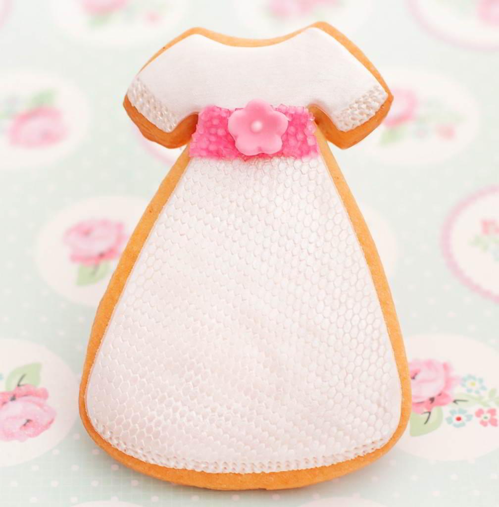galleta vestido de comunión