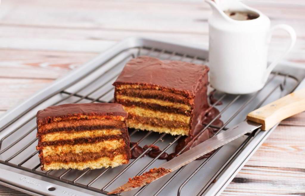 tarta-de-café y chocolate