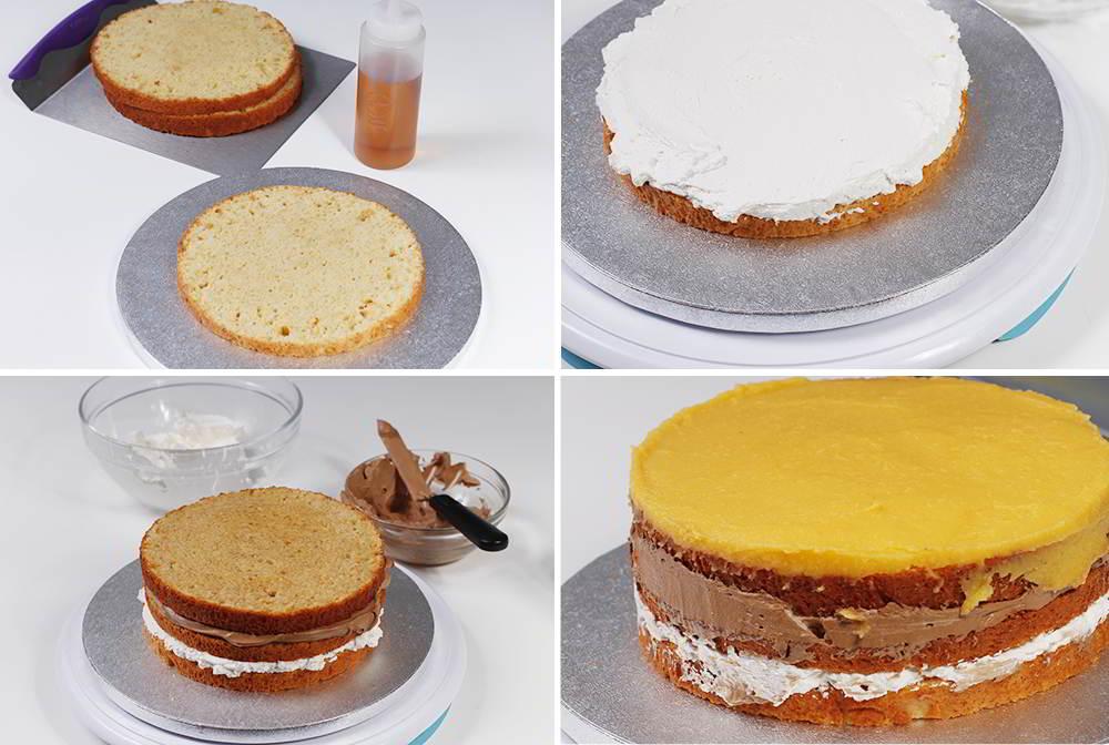 tarta de san marcos paso a paso